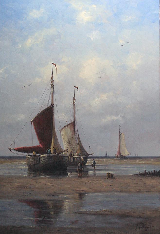 Simon Balyon Werk / Work / schilderijen / paintings ...