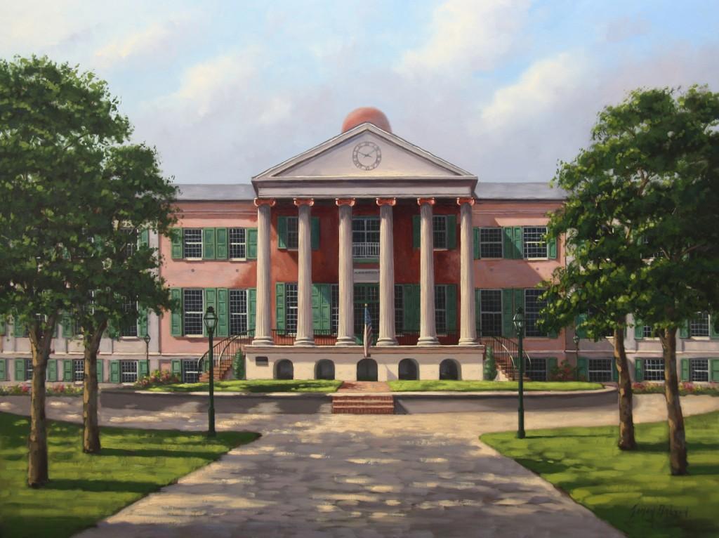 College of Charleston Kunstschilder Simon Balyon