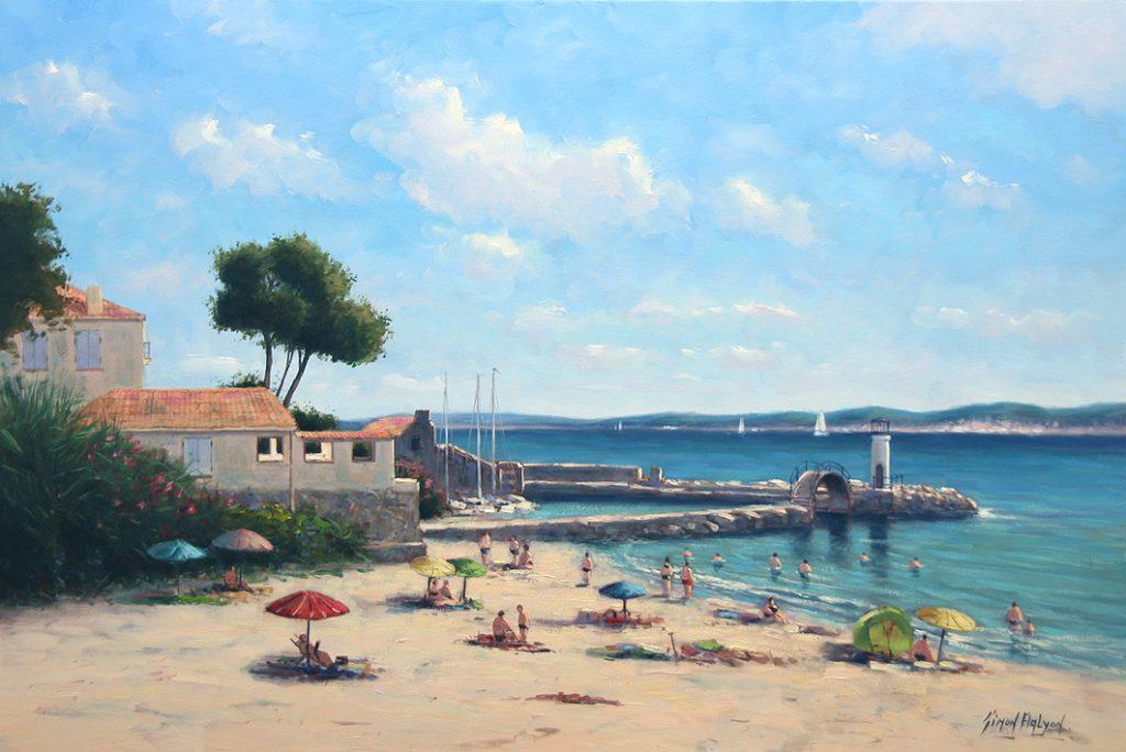 Ste Maxime , Cote d`Azur Simon Balyon 60x90 cm