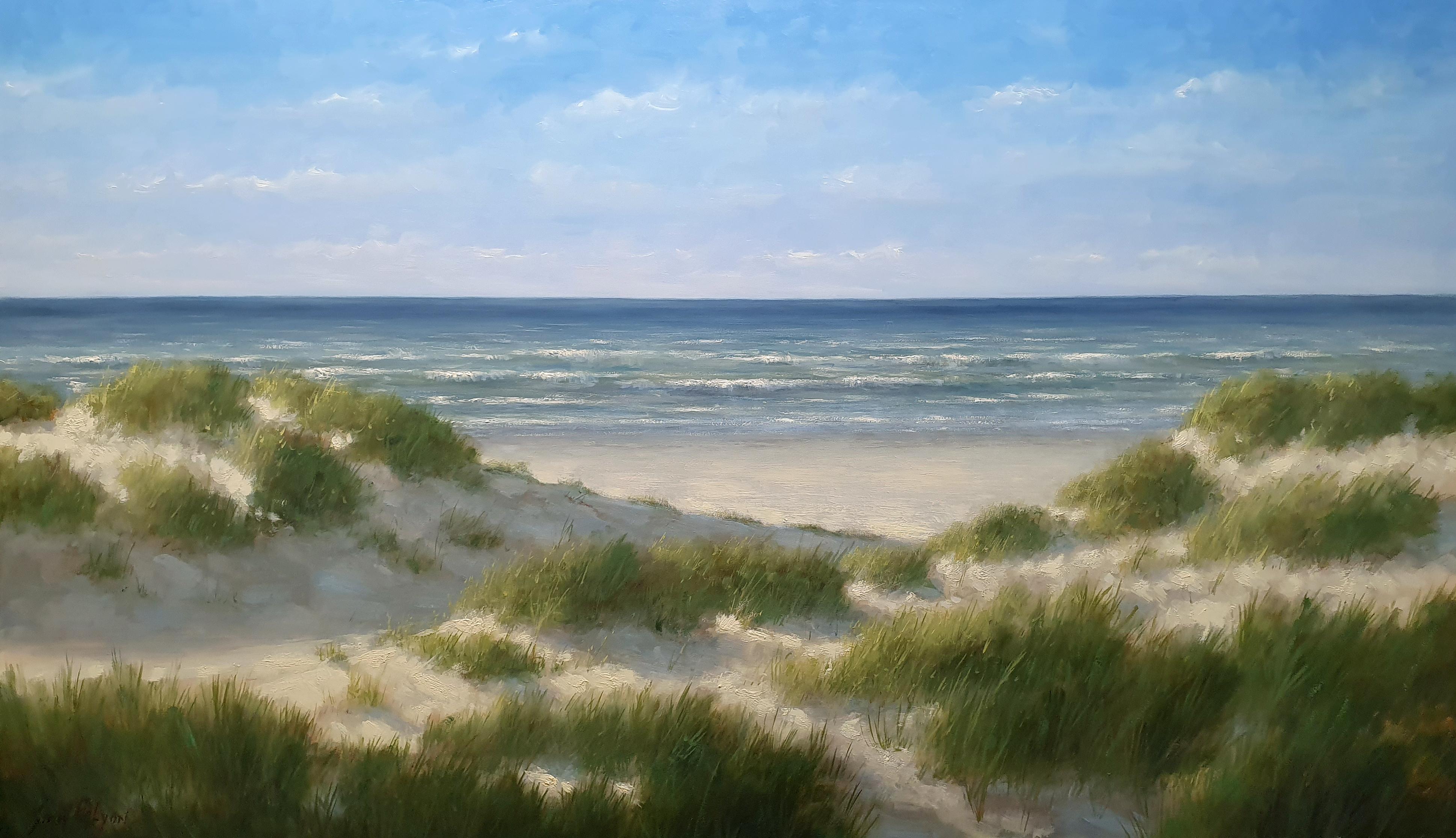 De duinen strand en zee 100x170 cm Simon Balyon