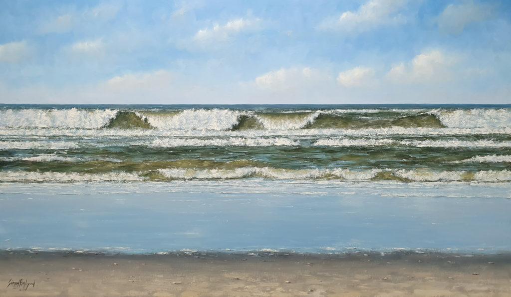 Bruisende golven 100x170cm Simon balyon