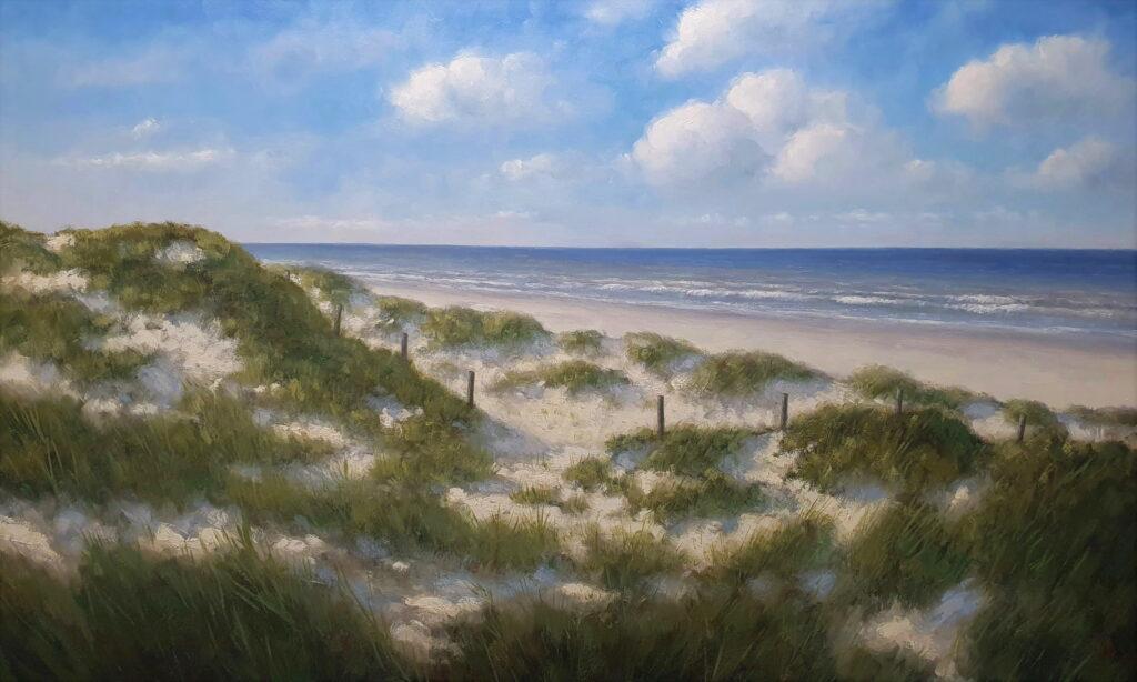 Hollandse Duinen Zee strand duinen zon Sea dunes beach 2