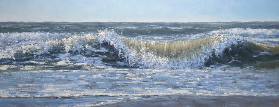 Sonne Meer Strand Dunen Malerei Simon Balyon Sun Sea Beach Dunes painting Simon-Balyon
