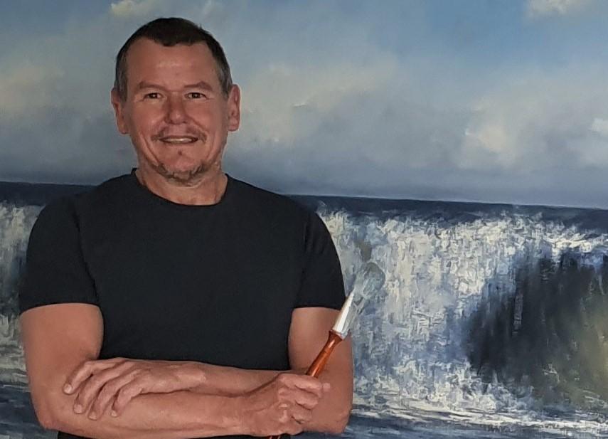 zon zee strand golven duinen Sonne-Meer-Strand-Dunen-Malerei-Sun-Sea-Beach-Dunes-painting-Simon-Balyon-duinen-kust-Scheveningen-Katwijk-Noordwijk-Egmond-aan-Zee-schilderij
