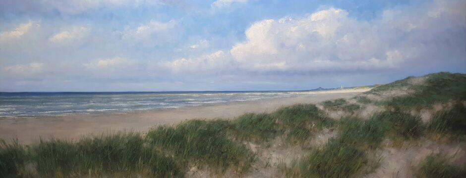 Wassenaar Katwijk Noordwijk Scheveningen kust schilderij Noordzee Zeeland Zon zee strand Kunstschilder Simon Balyon Sonne Meer Strand Duinen Holland Egmond Noord